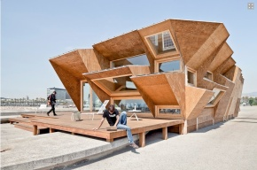 Endesa Pavilion: Barcelona's self-sufficient pavilion