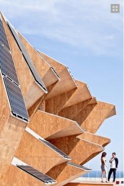 Endesa Pavilion facade